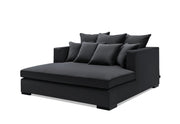 Milano Daybed 1 (Sort Velour)