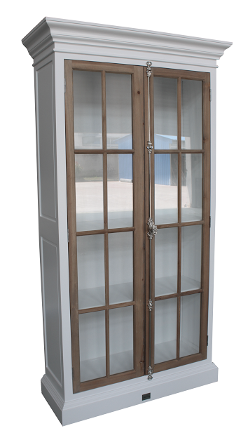Manhattan Country Cabinet 120 cm  (Hvit og brun)