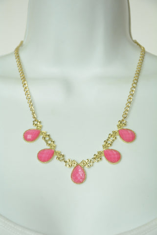 Barbie Pink and Gold Sweet Necklace 77