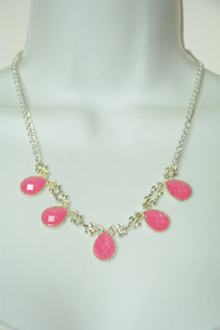 Barbie Pink and Silver Necklace 91