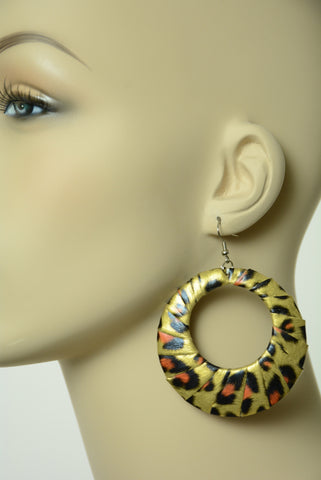 Animal Print Earrings 211