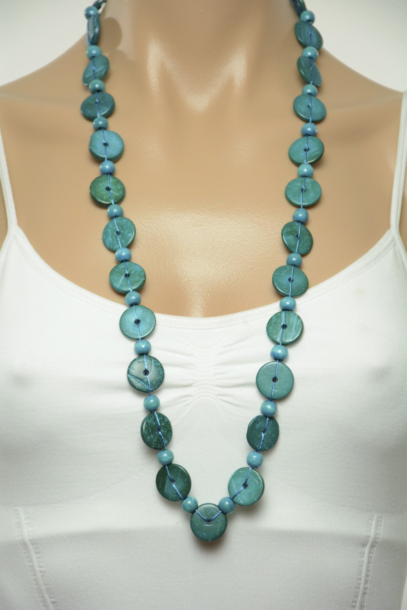 earring set aquamarine product blue glass estreet necklace bead