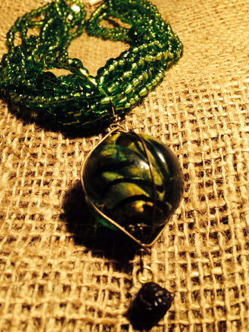 Green is beautiful! - Necklace