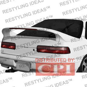 Acura 1990-1993 Integra 2D Custom 3-Pc Style W/Led Light Spoiler Performance