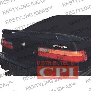 Acura 1990-1993 Integra 2/4D Factory Style W/Led Light Spoiler Performance