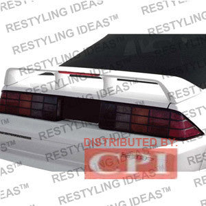 Chevrolet 1982-1992 Camaro Rs Style W/Led Light Spoiler Performance