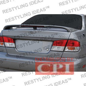 Infiniti 1999-2002 G20 Factory Style W/Led Light Spoiler Performance
