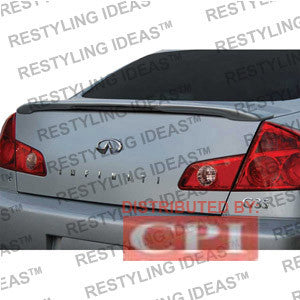Infiniti 2003-2006 G35 4Dr Custom Lip Style W/o Led Light Spoiler Performance