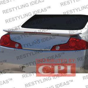 Infiniti 2003-2007 G35 2D Factory Style W/Led Light Spoiler Performance 2003,2004,2005,2006,2007