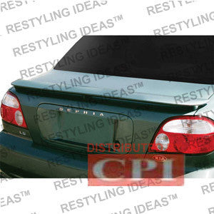 Kia 1998-2003 Sephia Factory Style W/Led Light Spoiler Performance