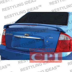 Kia 2004-2009 Spectra Factory 2004.5 2-Post Style W/Led Light Spoiler Performance