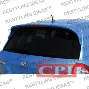 Kia 2005-2009 Spectra Hb Factory Style W/Led Light Spoiler Performance