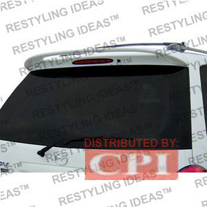 Mazda 2000-2005 Mpv Factory Roof Style Spoiler Performance