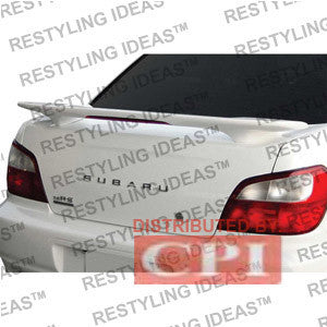 Subaru 2002-2007 Impreza Factory Style W/Led Light Spoiler Performance