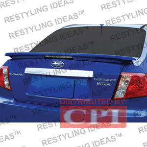 Subaru 2008-2009 Impreza Factory Lip Style W/Led Light Spoiler Performance-i