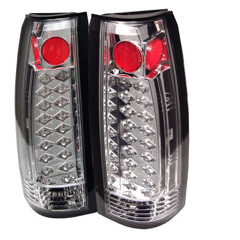 Yukon Denali 99-00 LED Tail Lights - Chrome-m