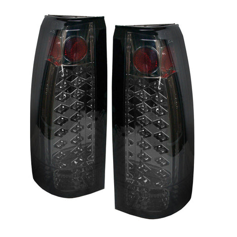Yukon Denali 99-00 LED Tail Lights - Smoke-p