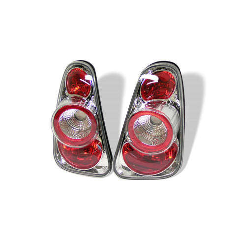 Mini Cooper 02-06 / Cooper Convertibles 05-08 Euro Style Tail Lights - Chrome