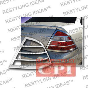 Mercury 2005-2007 Montego Chrome Tail Light Bezel Performance