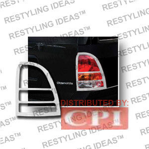 Buick 2004-2007 Rainier Chrome Tail Light Bezel Performance 1 Set Rh & Lh 2004,2005,2006,2007