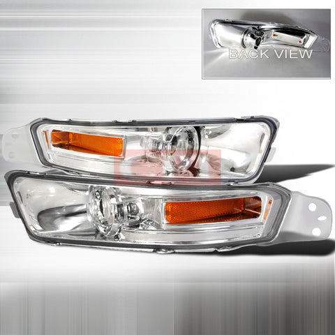 Ford 2005-2007 Ford Mustang Signal Turn Signal/ Bumper Lights/ Lamps Euro-q
