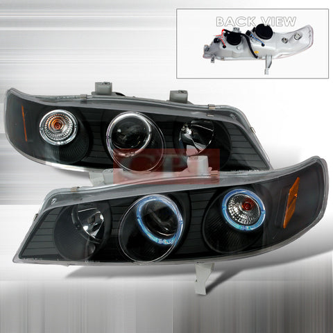 Honda 1994-1997 Honda Accord Projector Head Lamps/ Headlights 1 Set Rh&Lh Performance 1994,1995,1996,1997-m