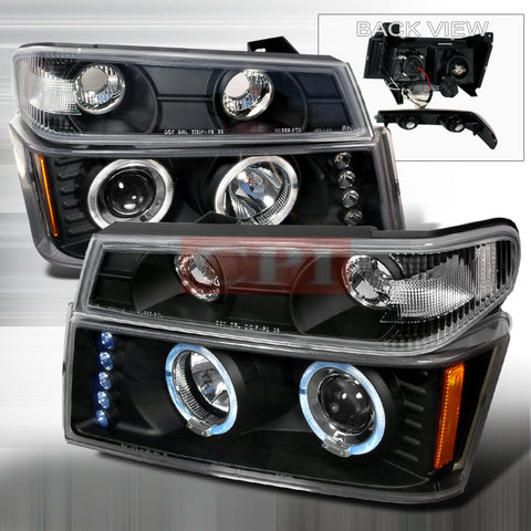 COLORADO 2004-2005 COLORADO CANYON LED HALO PROJECTOR HEAD LAMPS only (corner lamp sold separately)1 SET RH&LH
