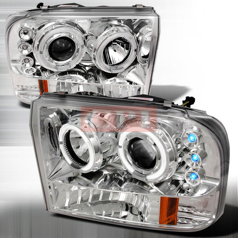 Ford 1999-2004 Ford F250 Projector Head Lamps/ Headlights Led-v