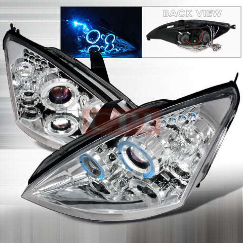 Ford 2000-2004 Ford Focus Led Projector Head Lamps/ Headlights-s