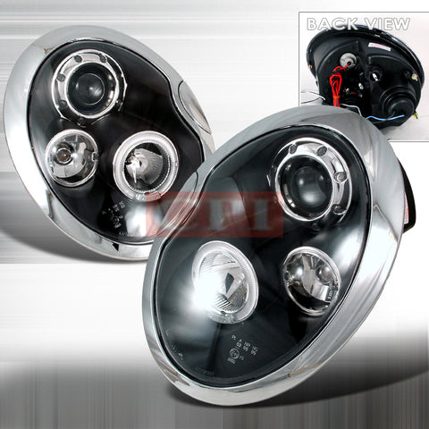 Mini 2001-2005 Mini Cooper Projector Head Lamps/ Headlights-w