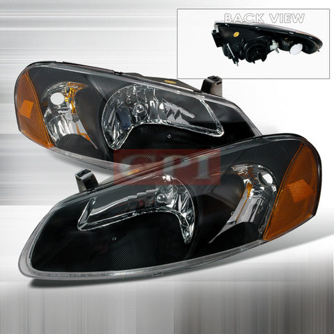 CHRYSLER 2001-2004 CHRYSLER SEBRING HEADLIGHTS/ HEAD LAMPS-EURO STYLE   2001,2002,2003,2004