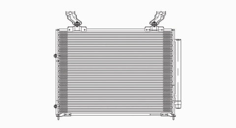 Acura 01-06 Acura Mdx / Mdx W/ R/D Ac Condenser (Pfc) (1) Pc Replacement 2001,2002,2003,2004,2005,2006