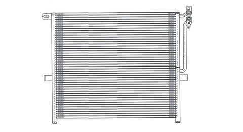 Bmw 04-09 Bmw X3 Ac Condenser (Pfc) (1) Pc Replacement 2004,2005,2006,2007,2008,2009