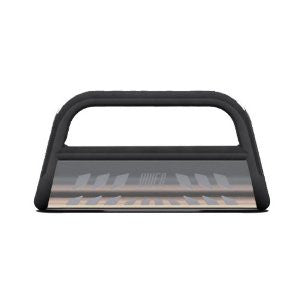 FORD F-150 PICKUP 04-11 Ford F-150 BLACK BULL BAR 3inch WITH STAINLESS SKID  Guards & Bull Bars Stainless