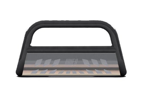 Honda Ridgeline Honda Ridgeline Black Bull Bar 3Inch With Stainless Skid Grille Guards & Bull Bars Stainless Products Performance