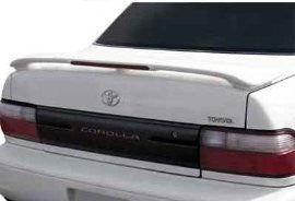 Toyota 1994-1997 Corolla Factory Style W/Led Light Spoiler Performance
