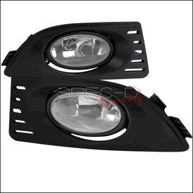 Acura 05-07 Rsx Oem Style Clear Fog Light Performance 1 Set Rh & Lh 2005,2006,2007