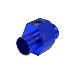 30Mm Water Temp Sensor Adaptor Blue