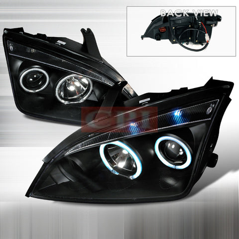 Ford 2005-2007 Ford Focus 4D Zx4 Projector Head Lamps/ Headlights 1 Set Rh&Lh Performance 2005,2006,2007-w