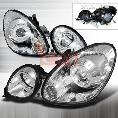 LEXUS 1998-2005 LEXUS GS300 PROJECTOR HEAD LAMPS/ HEADLIGHTS 1 SET RH&LH   1998,1999,2000,2001,2002,2003,2004,2005