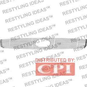 Inifniti 2003-2006 Inifniti G35 4D [Ch72201] Chrome Plated Stainless Steel Billet Grille Insert Performance
