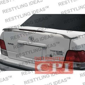 Toyota 1994-1998 Tercel Factory Style W/Led Light Spoiler Performance