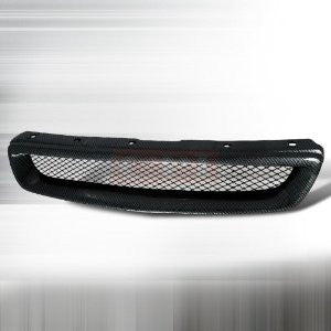 Honda 1996-1998 Civic Front Hood Grille - Type-R Performance-g