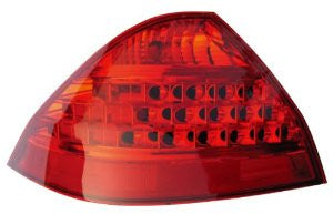 Honda Accord 06-07 Sedan Tail Light (All Red Lens) Tail Lamp Driver Side Lh