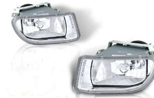 03-04 honda odyssey oem style fog light - clear (wiring kit included) performance