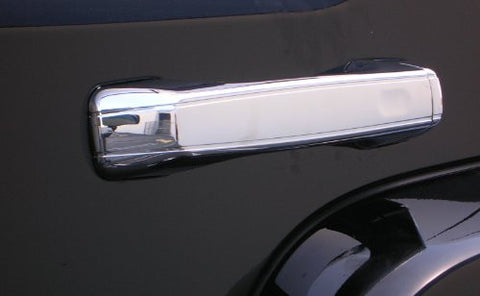 Hummer H3 06-10 Gmc H3 Chrome Door Handle Covers (Set Of 5) Chrome Accessories Door Handles Performance