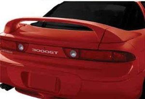 Mitsubishi 1991-1998 300Gt Factory 3-Pc Mid Wing Style W/Led Light Spoiler Performance-p