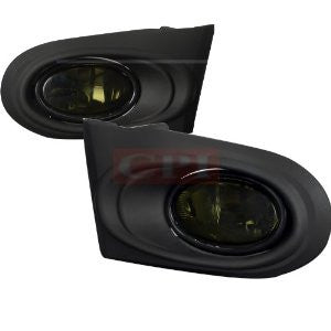 Acura 02-04 Rsx Smoked Lens Foglight Performance 1 Set Rh & Lh 2002,2003,2004