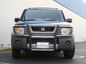 Honda Element 03-09 Honda Element Modular Gg, All Black, 2&4Wd Grille Guards & Bull Bars Stainless Products   2003,2004,2005,2006,2007,2008,2009