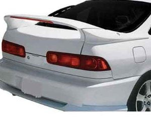 Acura 1994-2001 Integra 2D Custom 3-Pc Mid Wing Style W/Led Light Spoiler Performance-e